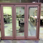 Urban Bi-Folds - Timber bi-fold 3-door unit - Assembled in factory