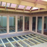 Urban Bi-Folds - Timber bi-fold 4-door and 3-door units - Deck