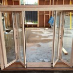 Urban Bi-Folds - Timber bi-fold 4-door unit - Centre opening