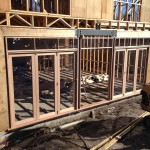 Urban Bi-Folds - Timber bi-fold double 3-door units - New home